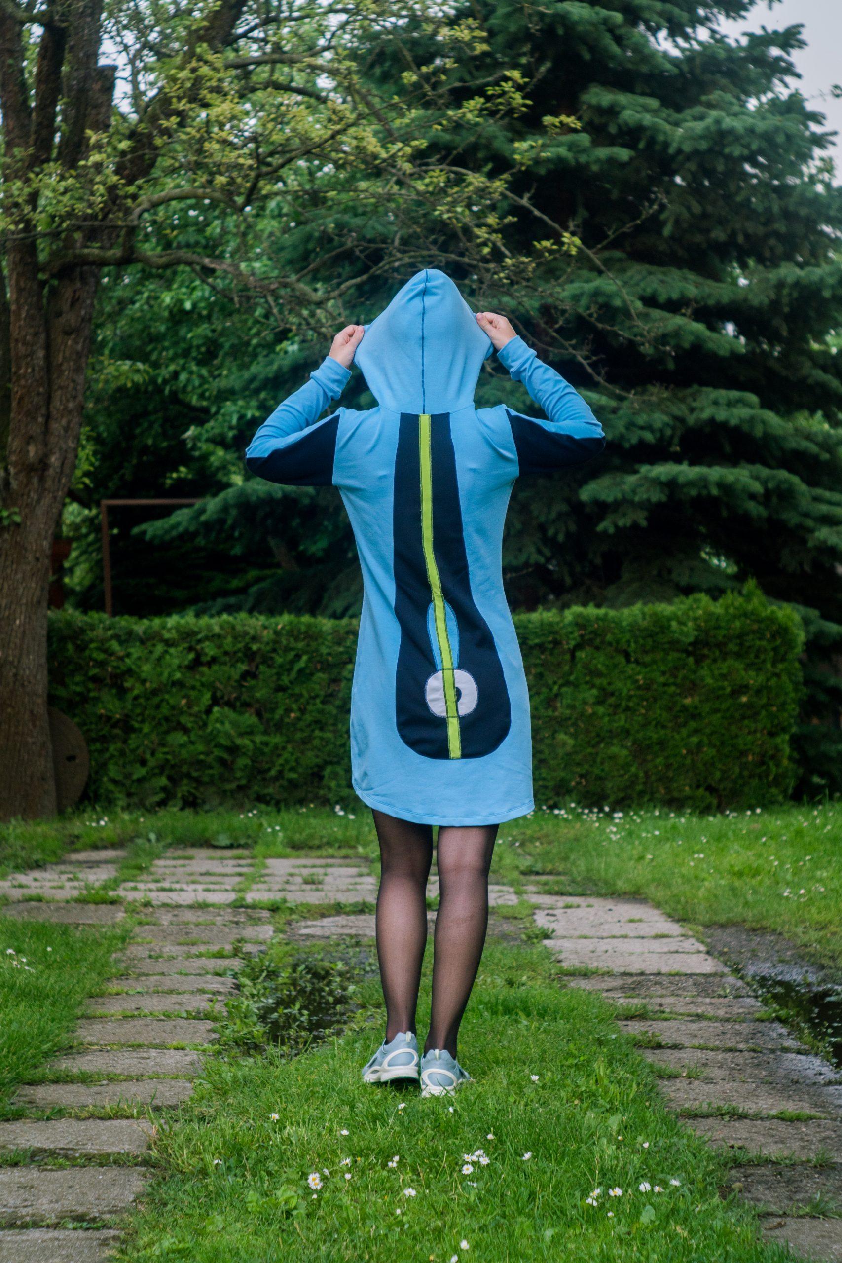 Šaty Apex teplákové - kolekcia Botanica