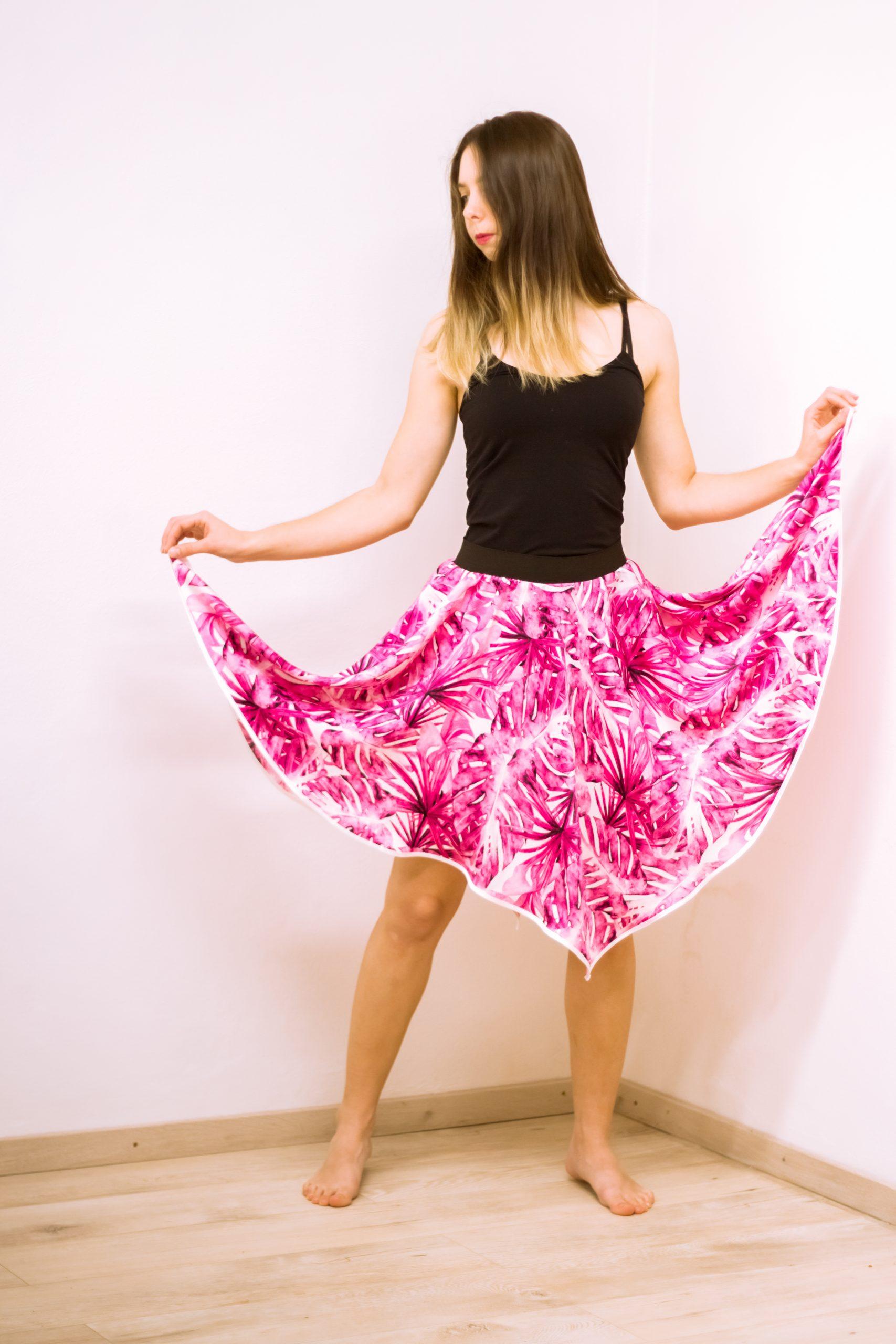 Sukňa Tropical Pink