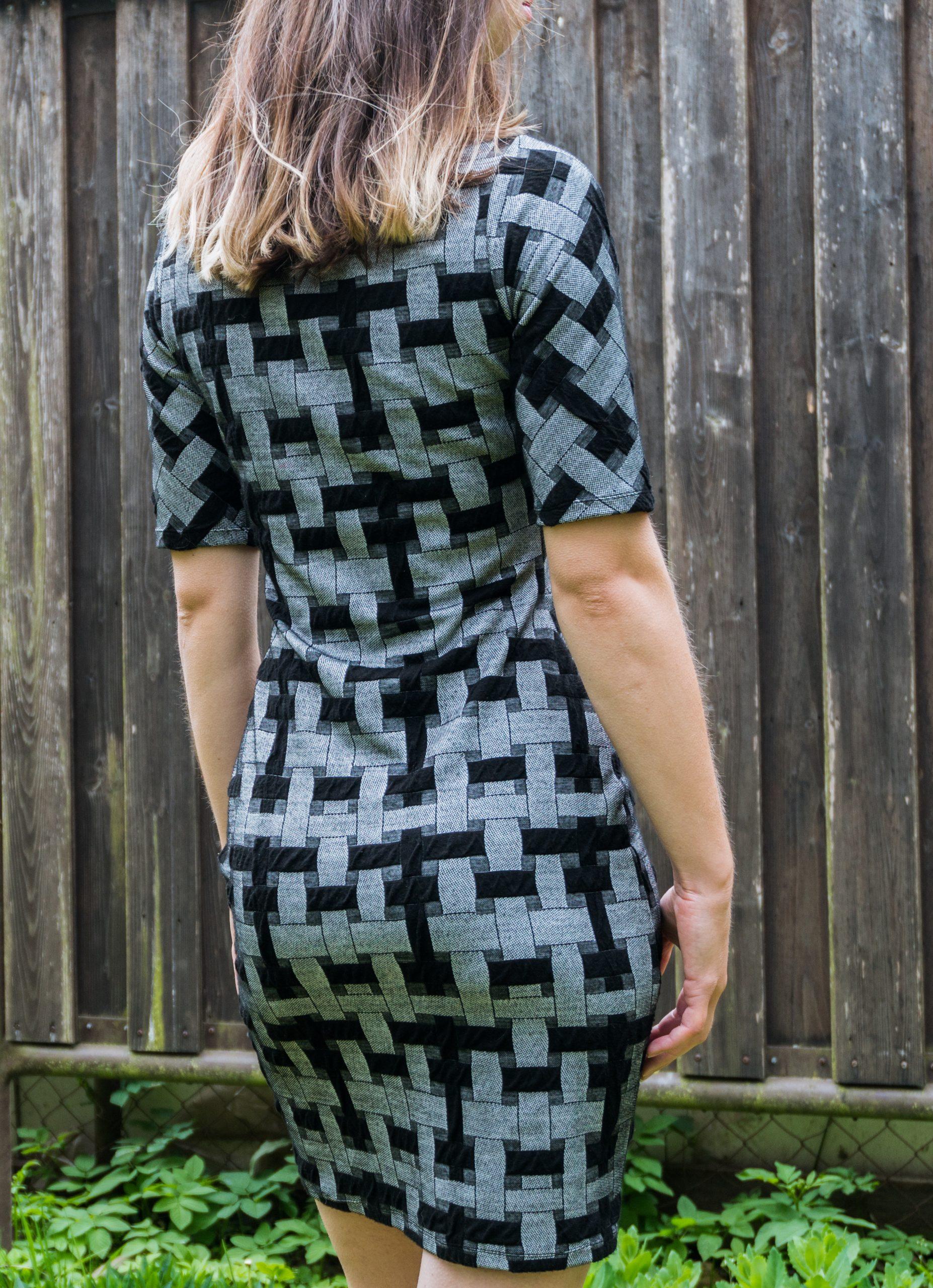 Šedá elegancia - šaty, spoločenské šaty