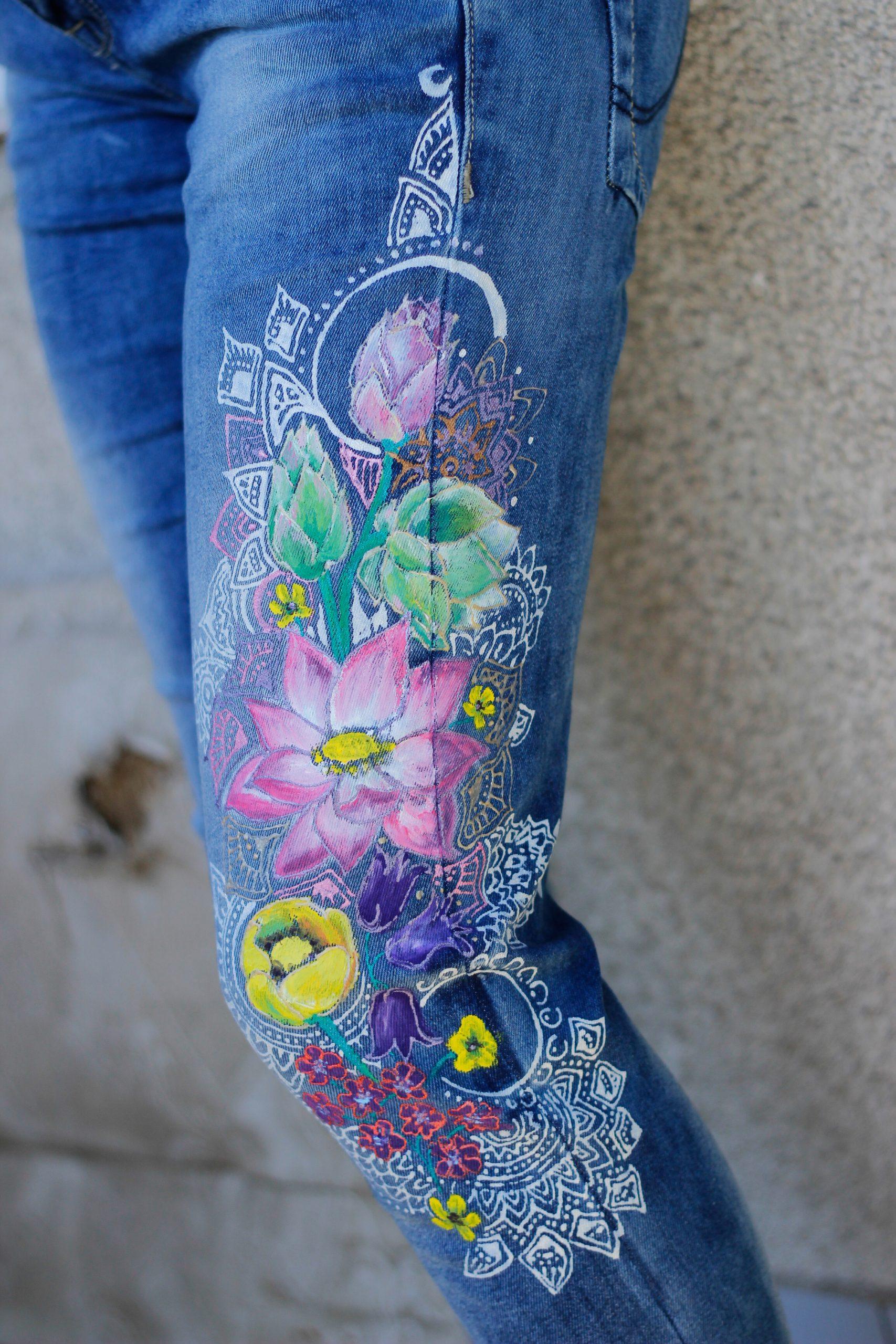 Maľba na džínsy